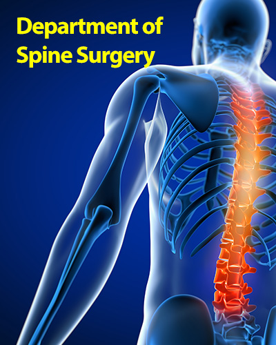 department of spine surgery